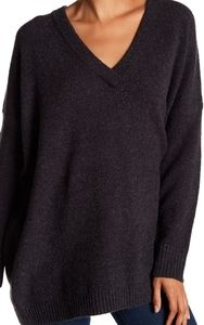 French Connection Flossy Knit v neck